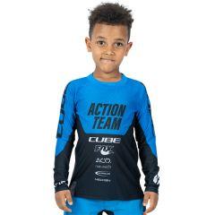 CUBE JUNIOR Trikot langarm X Actionteam (2021)