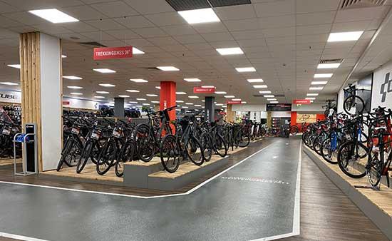 CUBE Store Rostock Teststrecke