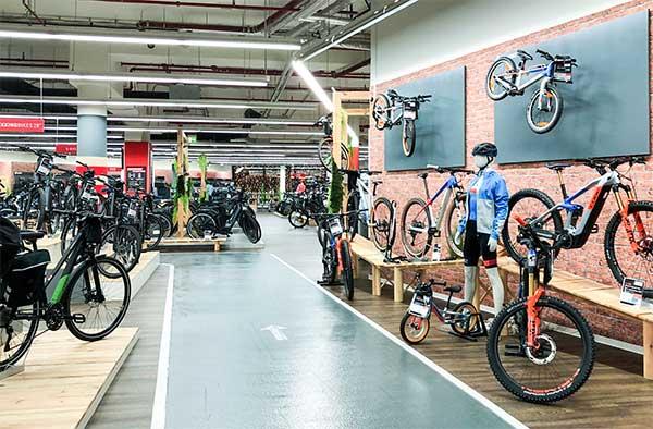 CUBE Store Schwerin Teststrecke