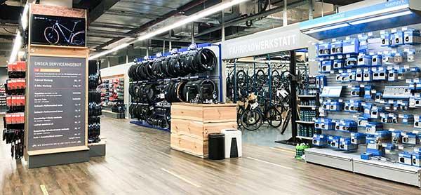 CUBE Store Schwerin Werkstatt